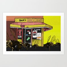 Bees in the Trap Art Print