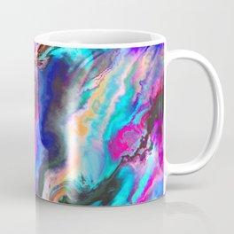 Colorful Abstract Paint Chaos Coffee Mug