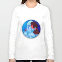 cinderella Long Sleeve T-shirts featuring Cinderella by The Romance Scrooge