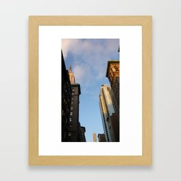Highter Hight Framed Art Print