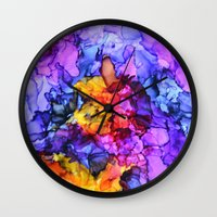 lolita Wall Clocks featuring Lolita by Claire Day