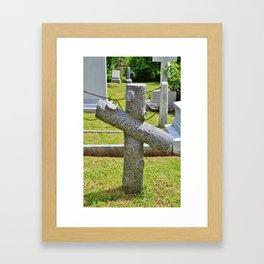 Cross Of Nance Framed Art Print