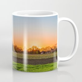 Green Grass Field Coffee Mug