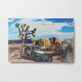 Old Life desert Metal Print
