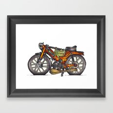 Puch Framed Art Print