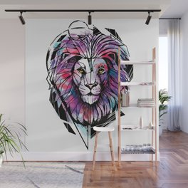 Lion Zion Wall Mural