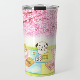 Cherry Blossom Bento Picnic Travel Mug