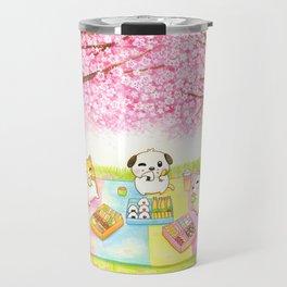 Cherry Blossom Bento Picnic Travel Mug