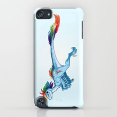 Raptor Rainbow Dash iPod touch Slim Case