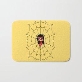 Chibi Spider Woman Bath Mat