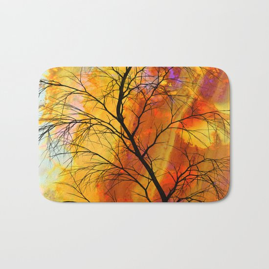 the naked tree Bath Mat