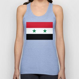 Syrian flag - may PEACE prevail Unisex Tank Top