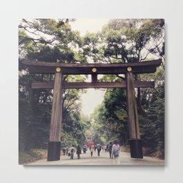 Yoyogi Park, Tokyo Metal Print