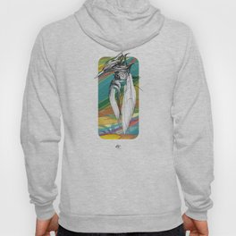 Kingfisher 1h. Crazy Colors - (Red eyes series) Hoody