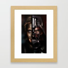 My master...My enemy Framed Art Print