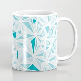 geo blue Coffee Mug