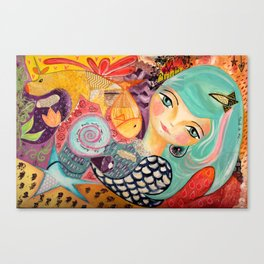 Muse Canvas Print
