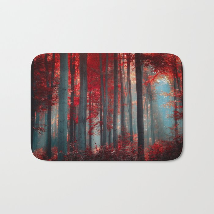 Magical trees Bath Mat