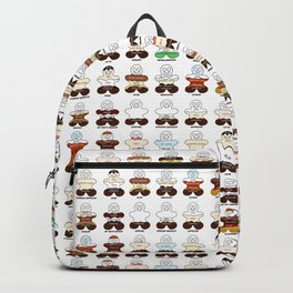 Gingerbread Coffee Family Backpack