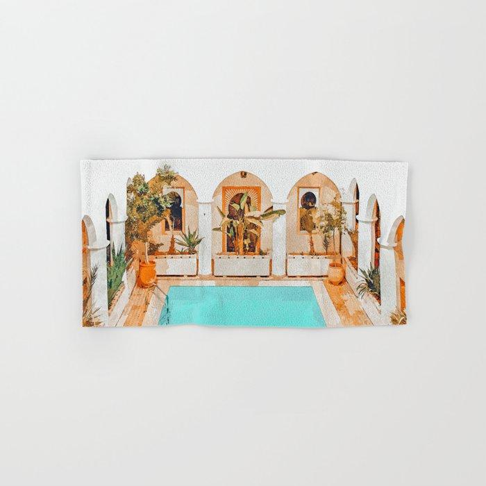 Turkish Holiday #painting #travel Hand & Bath Towel