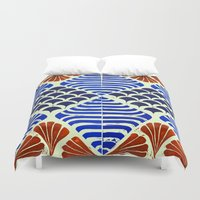 florence Duvet Covers featuring Florence  by sharon cassidy