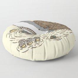 The Mullet Shark Floor Pillow