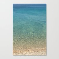 greece Canvas Prints featuring GREECE by Deadly Designer