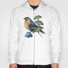 Ginkgo Bird Hoody