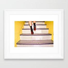 bye Framed Art Print