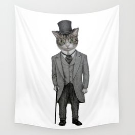 Mr.cat Wall Tapestry