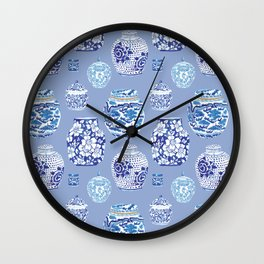 Chinoiserie Ginger Jar Collection No.6 Wall Clock