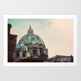 Basilica - Uncropped Color Art Print