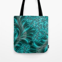 underwater Tote Bags featuring Underwater by Steve Purnell