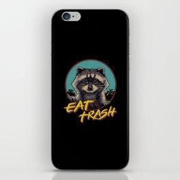 Eat Trash iPhone Skin