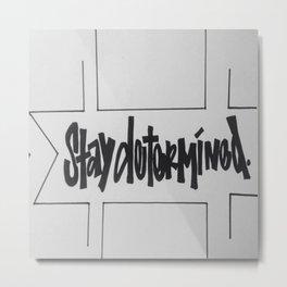 Subjective Note Metal Print