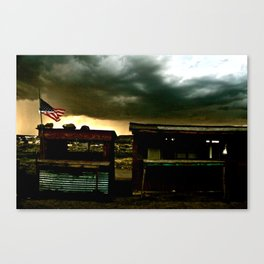 """""""And Our Flag Was Still There..."""" Pt 2 Canvas Print"""
