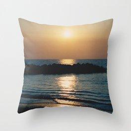 Sunset Ocean Bliss #6 #nature #art #society6 Throw Pillow
