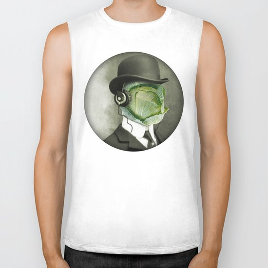 Bowler cabbage Biker Tank
