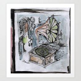 phonographic Art Print