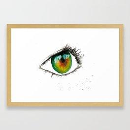 Jeni Framed Art Print