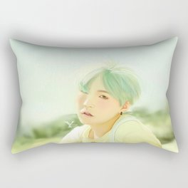Mint Yoongi Rectangular Pillow