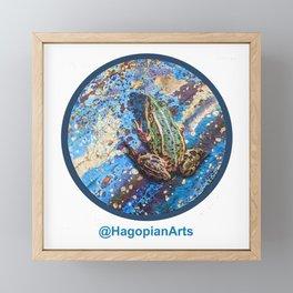 Eco Mural Project 4: Amphibians Framed Mini Art Print