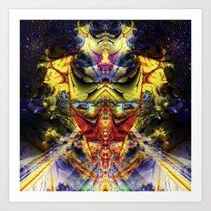 Interdimensional Oversight Art Print