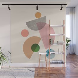 Abstraction_SHAPE_MODERNISM_MInimalism_001 Wall Mural