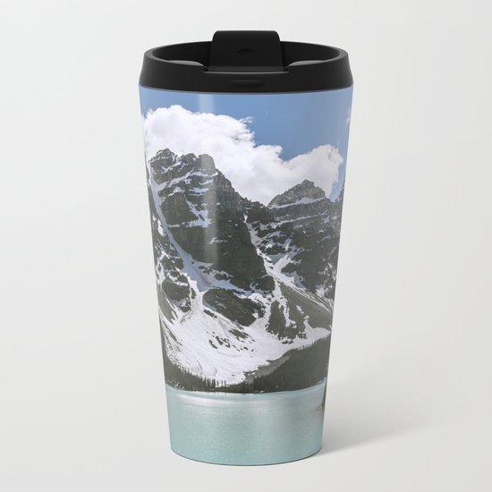 Man and Mountain Metal Travel Mug