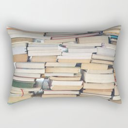 Books, Pages, Stories Rectangular Pillow