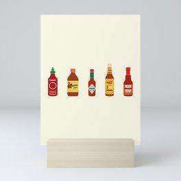 Hot Sauces Mini Art Print