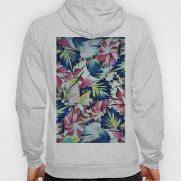 Floral Mix Up Hoody