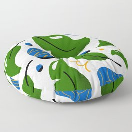 Plant Pattern // 2 Floor Pillow