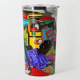 african market 1 Travel Mug